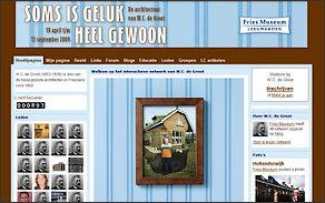 Fries Museum lanceert website over W.C. De Groot