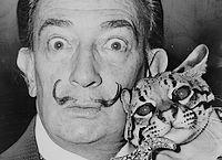 Salvador Dalí in 1965
