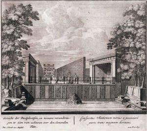 Prent van Petrus Schenk uit 1697