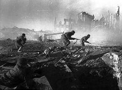 Beroemde foto van de Slag om Stalingrad
