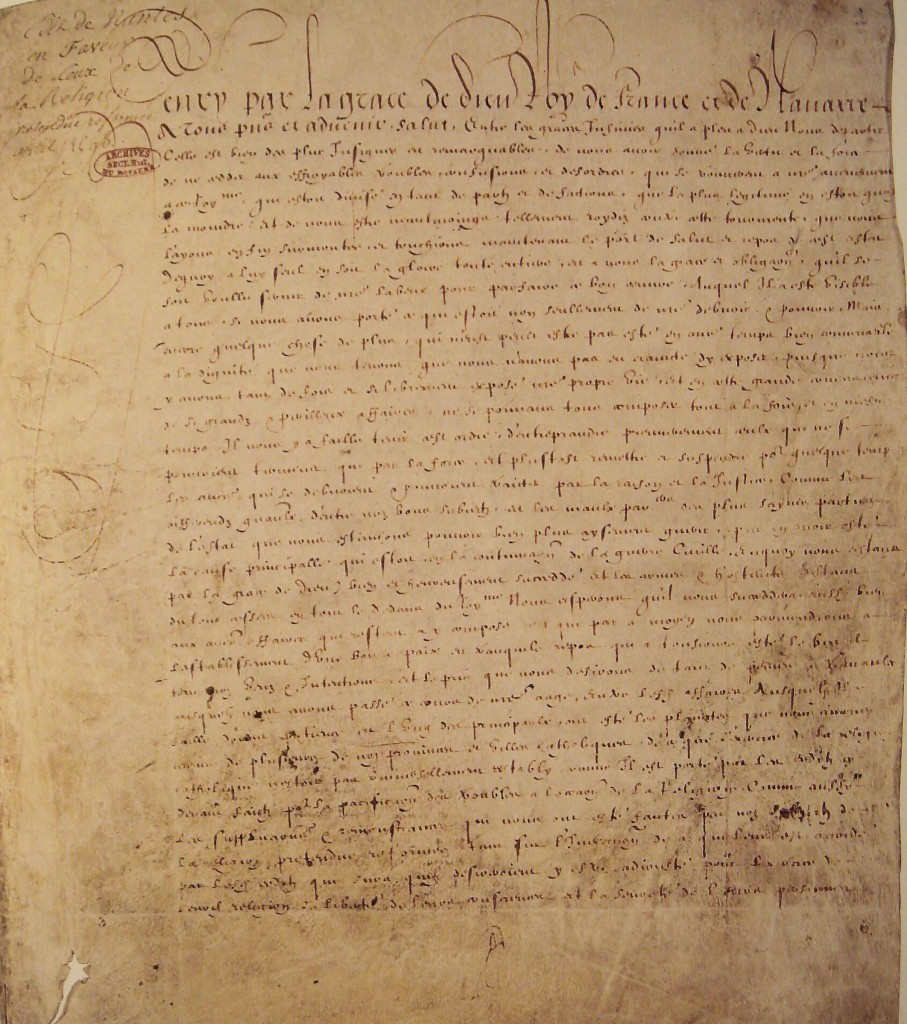 Edict van Nantes