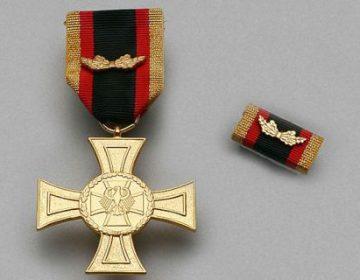 De nieuwe militaire onderscheiding (Afb: Bundeswehr)