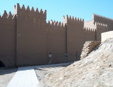 De muren van Babylon (CC BY-SA 3.0 - Radomil, CM - wiki)