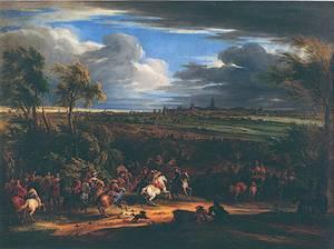 Franse leger bij Kortrijk, 1667