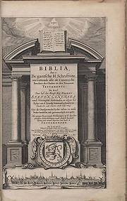 Eerste druk van de Statenvertaling uit 1637 (Bron: NBG)