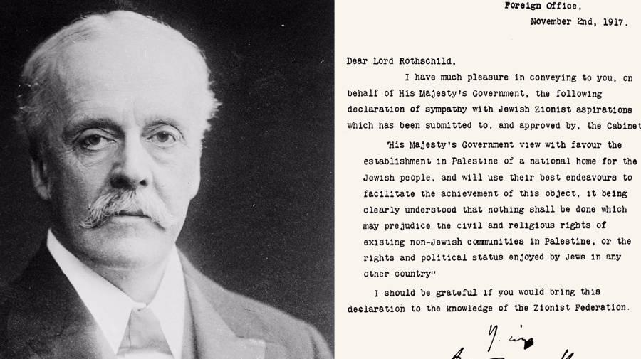 Balfour-verklaring (1917)