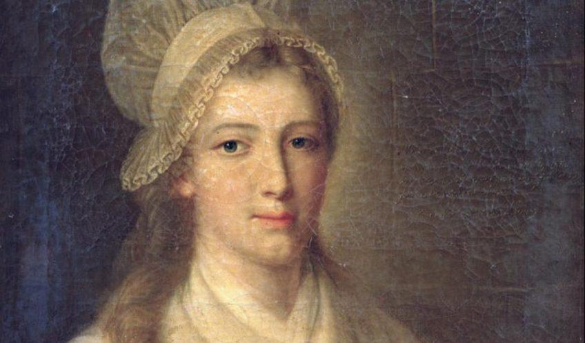 Charlotte Corday door Jean-Jacques Hauer
