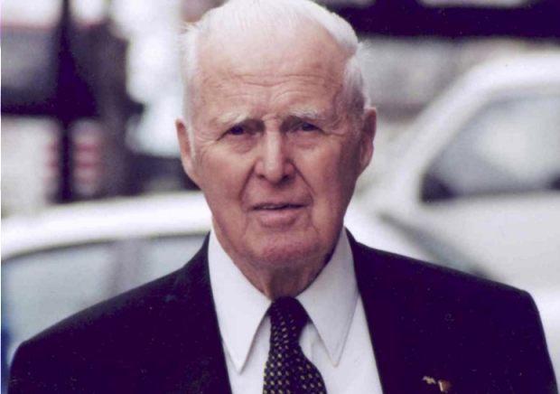 Norman Borlaug in 2004 (Publiek Domein - wiki - Ben Zinner)