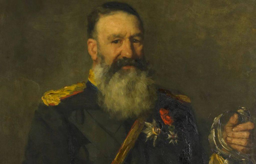 Piet Joubert. Portret door Thérèse Schwartze, 1890