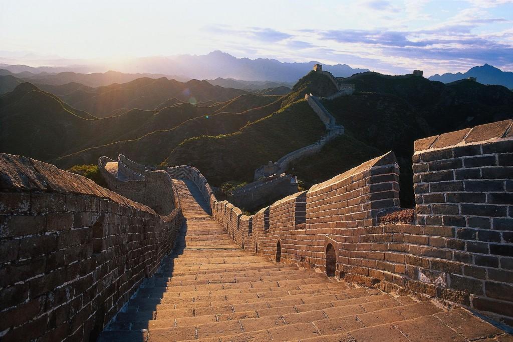 Blik over de Chinese Muur