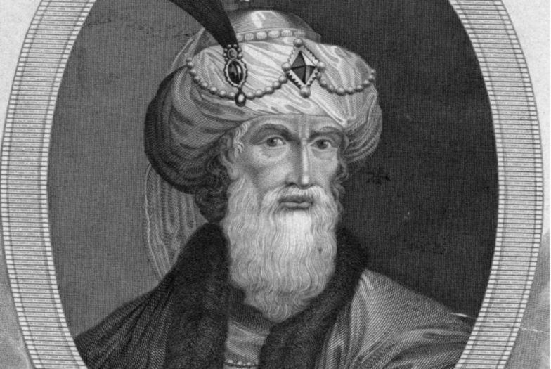 Fantasieportret van Flavius Josephus