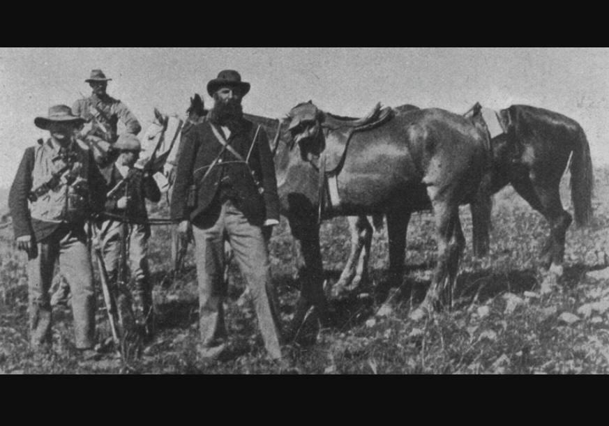 Koos de la Rey in 1902