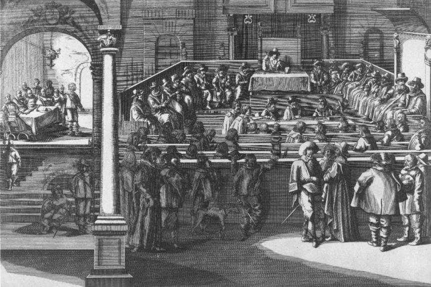 Vergadering van de Staten van Holland in 1625.