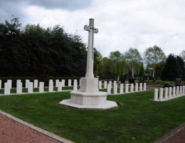 Brits ereveld in Winterswijk (wiki - M.F. Naaldenberg)