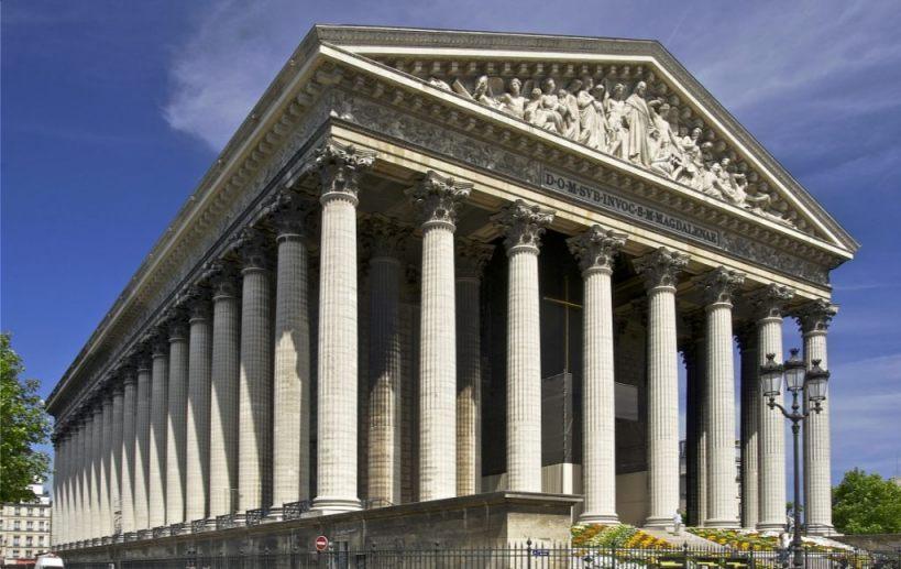 La Madeleine in Parijs (CC0 - Jebulon)