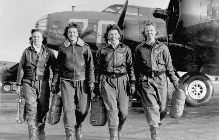 Vrouwen van de WASP (Foto: US Air Force)