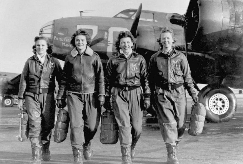 Vrouwen van de WASP (Foto: US Air Force)