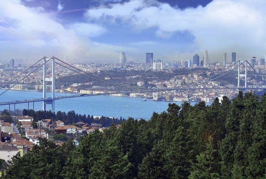 Zicht op Istanbul (CC0 - Pixabay - Evro-photography)