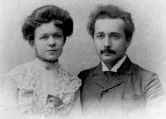 Albert Einstein en Mileva Marić