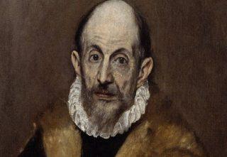 El Greco - Vermoedelijk zelfportret (ca. 1600)