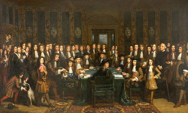 De ondertekening van de Vrede tussen Frankrijk en Spanje, Henri Gascard (1635-1701) – Foto: Museum Het Valkhof, Nijmegen