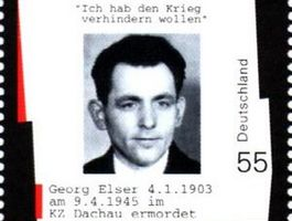 Georg Elser-postzegel