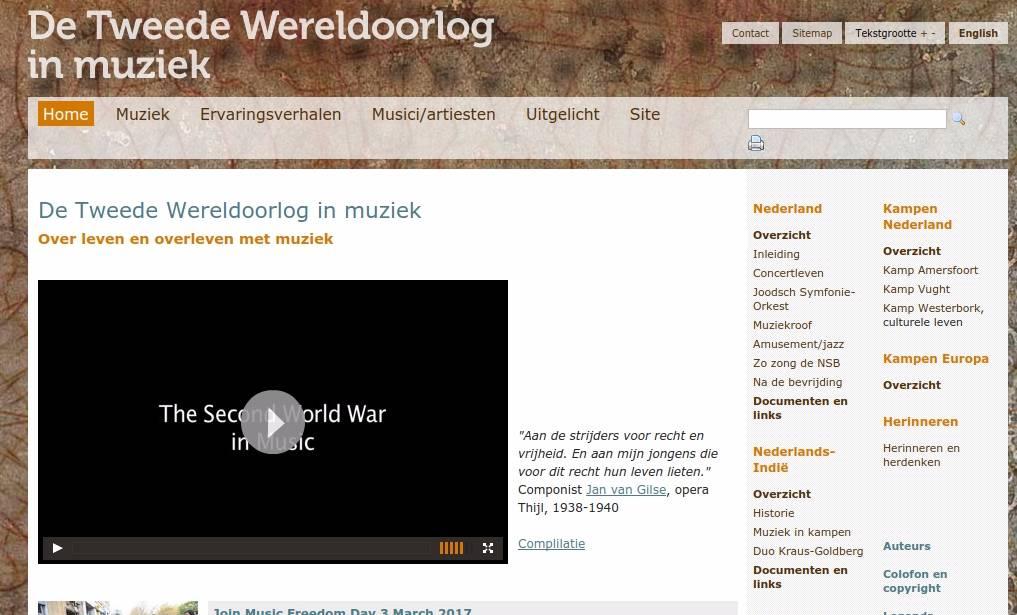 www.wo2-muziek.nl