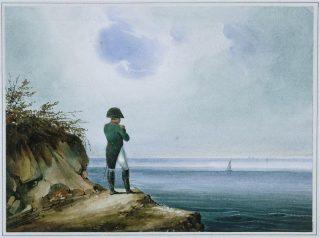 Napoleon op Sint-Helena, Franz Josef Sandmann (Publiek Domein - wiki)