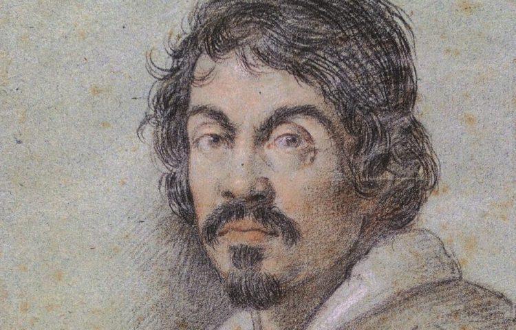 Caravaggio door Ottavio Leoni