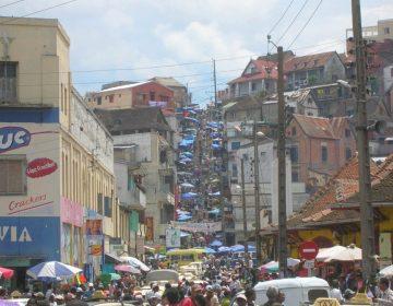 Antananarivo, de hoofdstad van Madagaskar (CC BY-SA 3.0 - Bernard GagnonBernard Gagnon - wiki)