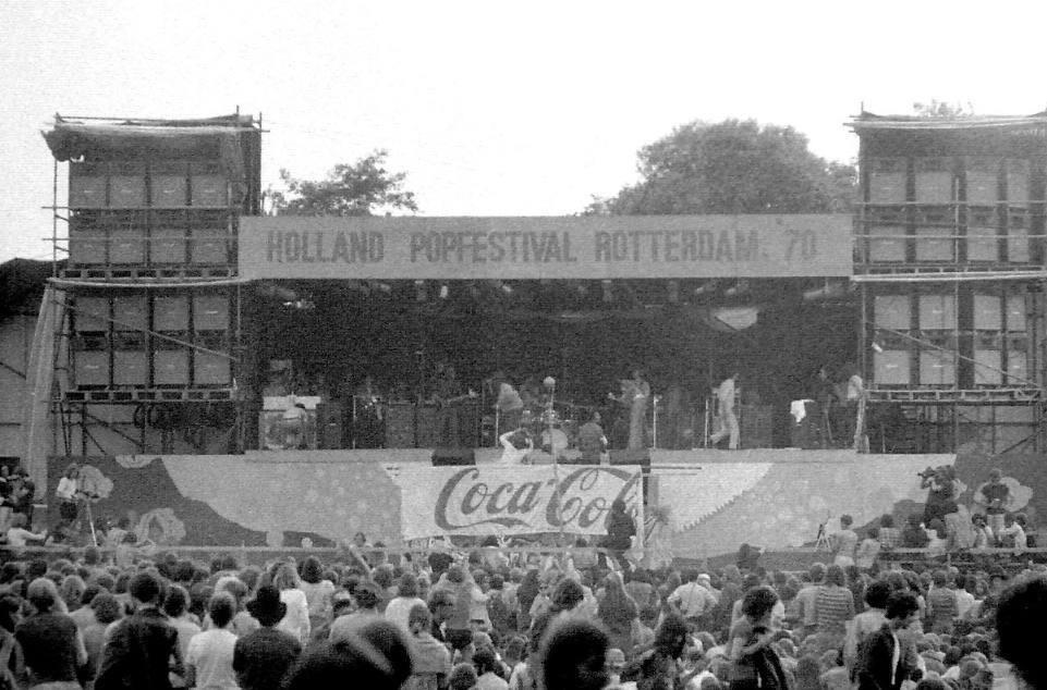 Canned Heat op het hoofdpodium van Popfestival Kralingen (CC BY-SA 3.0 - Erik Baas - wiki)