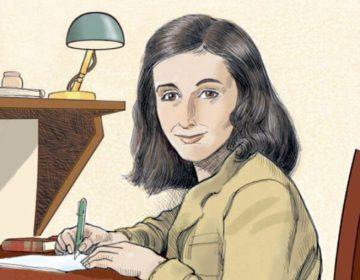 Het leven van Anne Frank - De grafische biografie (detail cover)