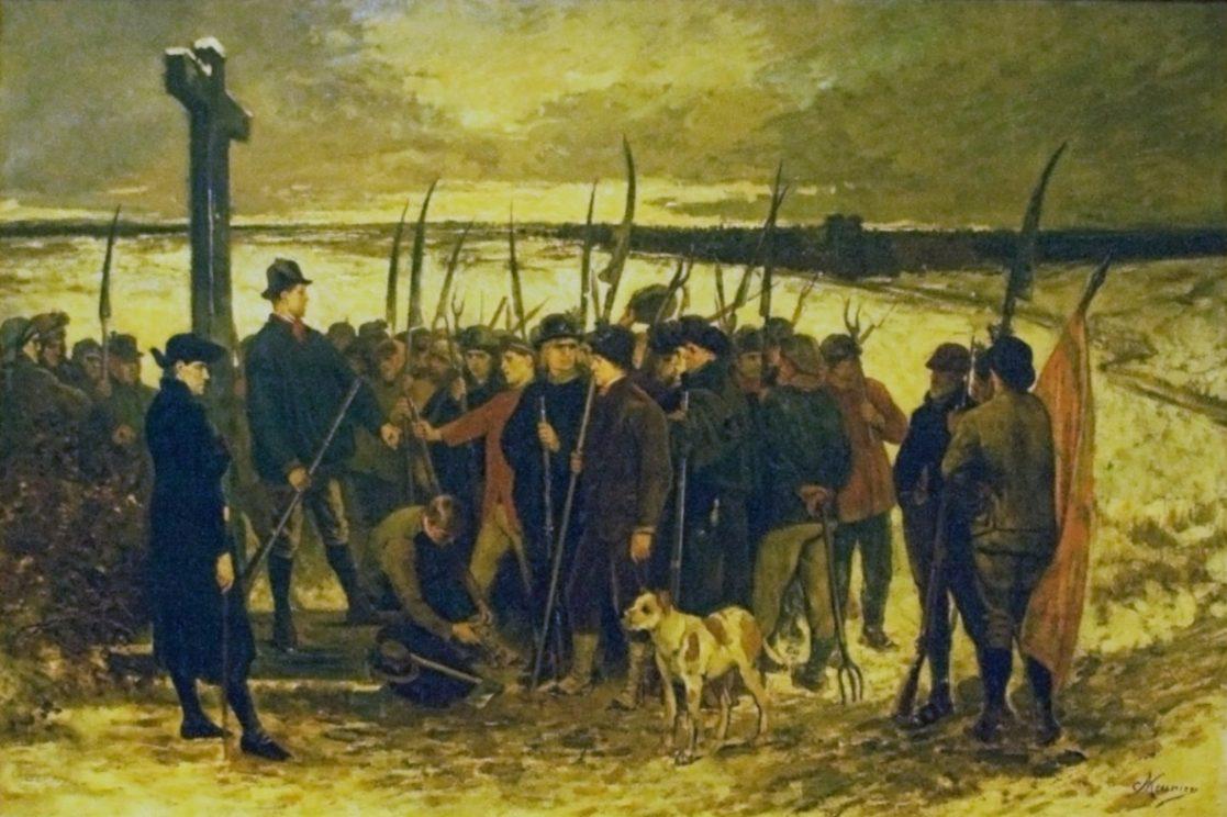 Boerenkrijgers van de Boerenkrijg - Constantin Meunier