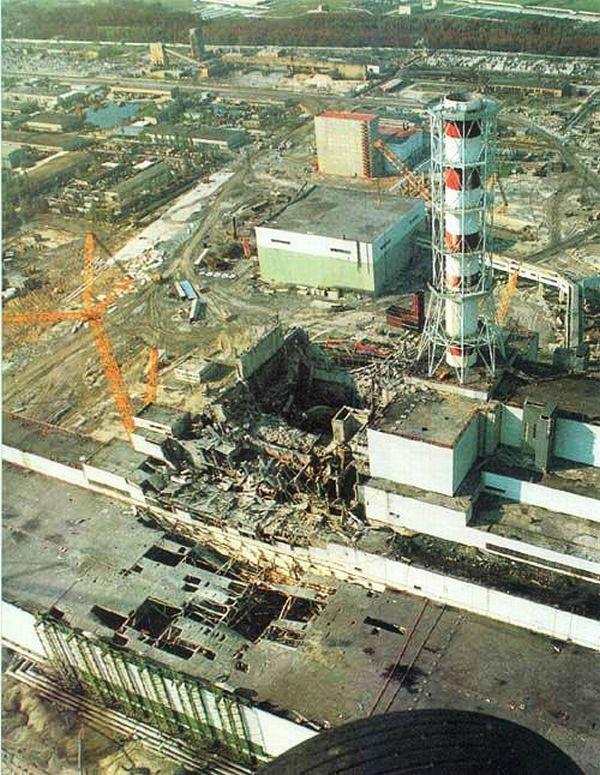 Nucleaire reactor na de ramp - cc