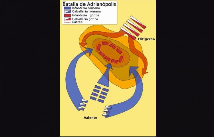 Slag bij Adrianopel (378) - wiki
