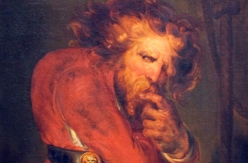 Quasimodo volgens Antoine Wiertz (Publiek Domein - wiki)