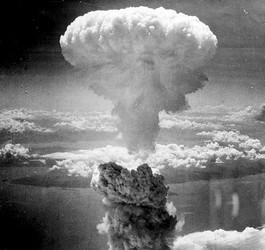 Paddestoelwolk boven Hiroshima