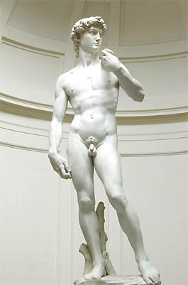 De David van Michelangelo
