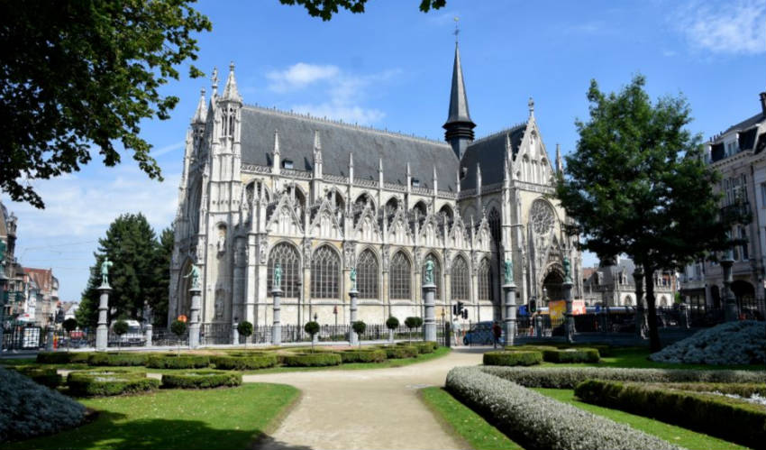 De Onze-Lieve-Vrouw-ter-Zavelkerk (cc - Paul Hermans)