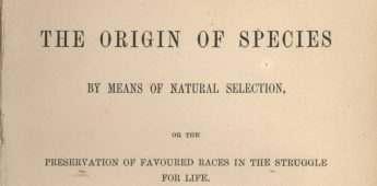 'On the Origin of Species' (De oorsprong der soorten) – Charles Darwin