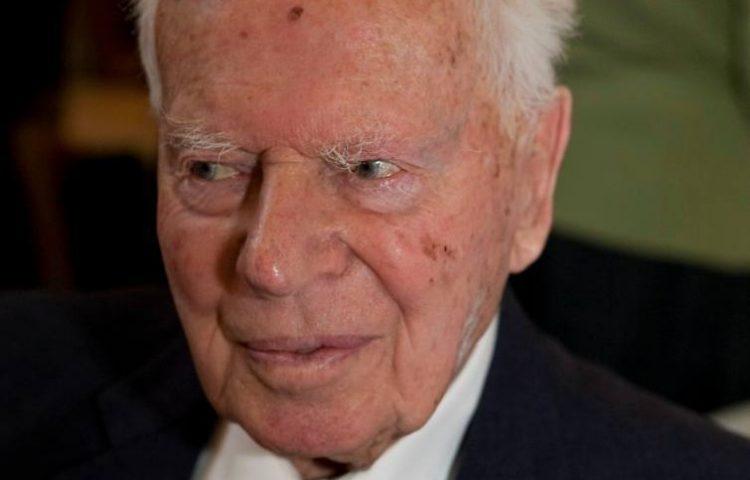 Max Kohnstamm op 94-jarige leeftijd