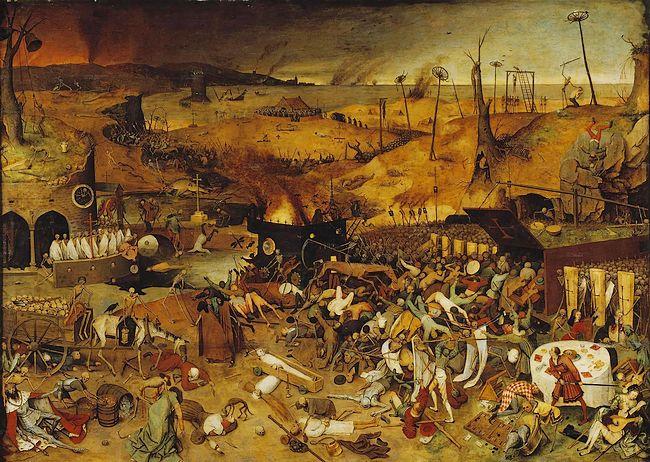 Triomf van de Dood – Pieter Brueghel de Oude
