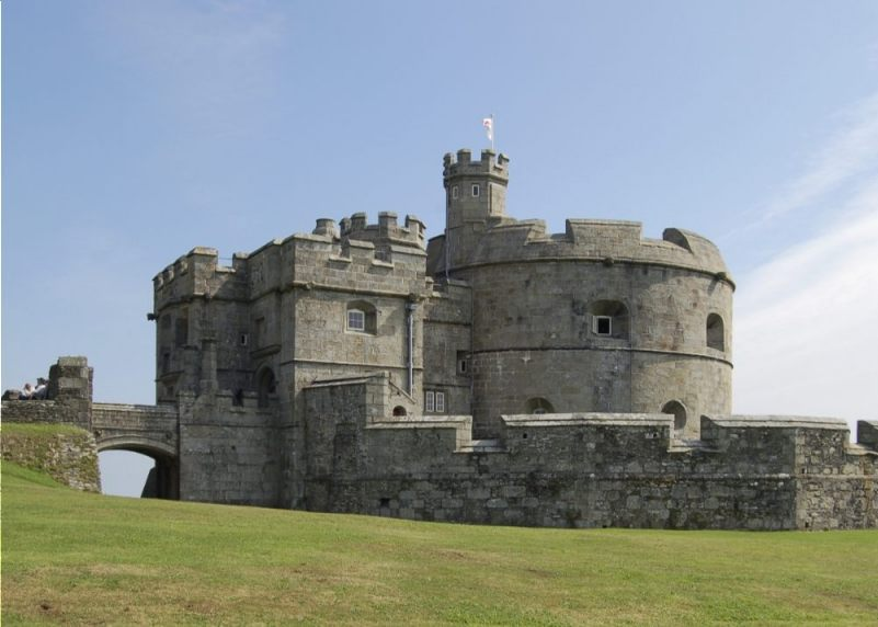 Pendennis Castle, Cornwal (CC BY-SA 3.0 - Nilfanion - wiki)