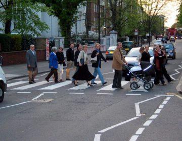 Abbey Road-zebrapad (CC BY-SA 3.0 - wiki)