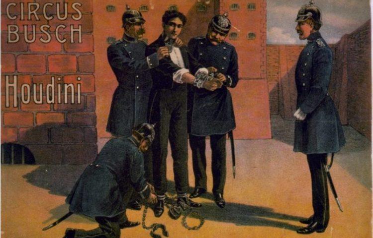 Poster van Harry Houdini (wiki)