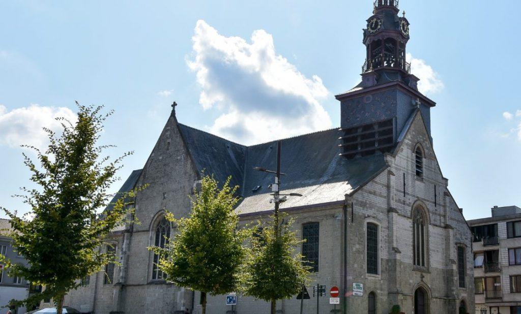 Onze-Lieve-Vrouw Hemelvaartkerk in Zottegem (CC BY 4.0 - Paul Hermans - wiki)