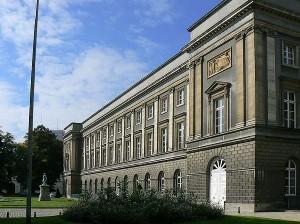 Het paleis der Academiën in Brussel