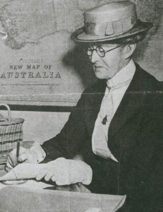Daisy Bates in 1941