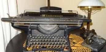 Geschiedenis van de typemachine