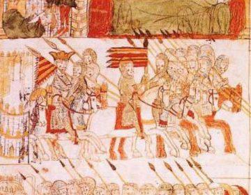 Afbeelding uit de Codex Calixtinus